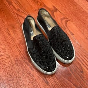 Bedazzled Slip On Shoes